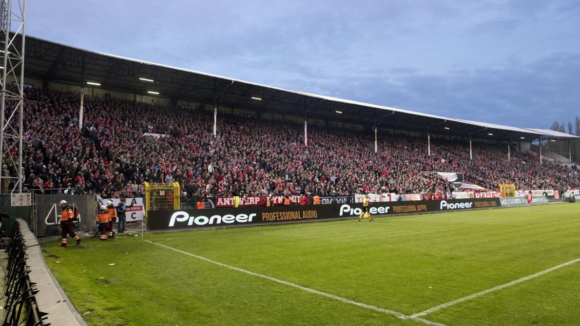 Le stade de l'Antwerp. © Photo News/Wim Hendrix