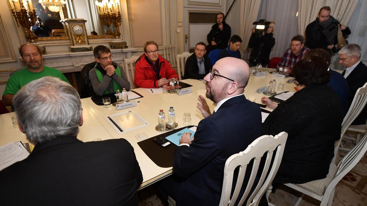 Rencontre syndicat gouvernement 2016