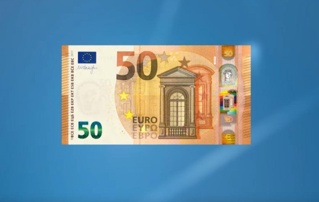 Le Nouveau Billet De 50 Euros Debarque Le 4 Avril 2017 Video Le