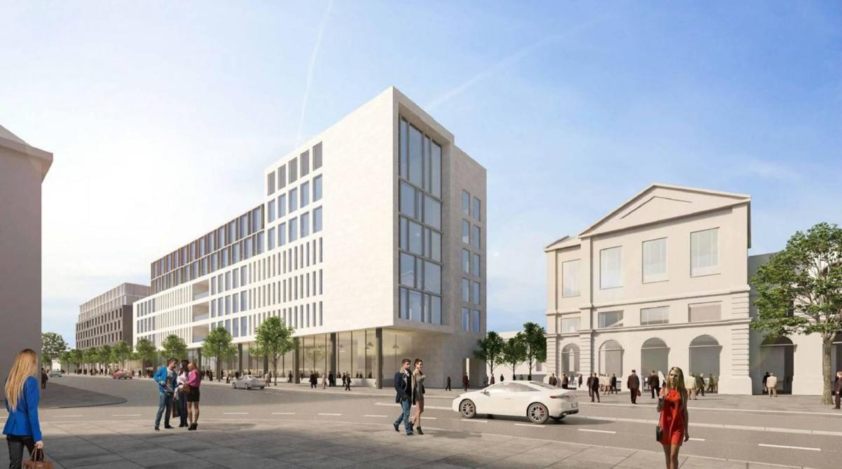 Namur l ancienne poste sera d molie cet t le soir plus - Bureau de poste belgique ...