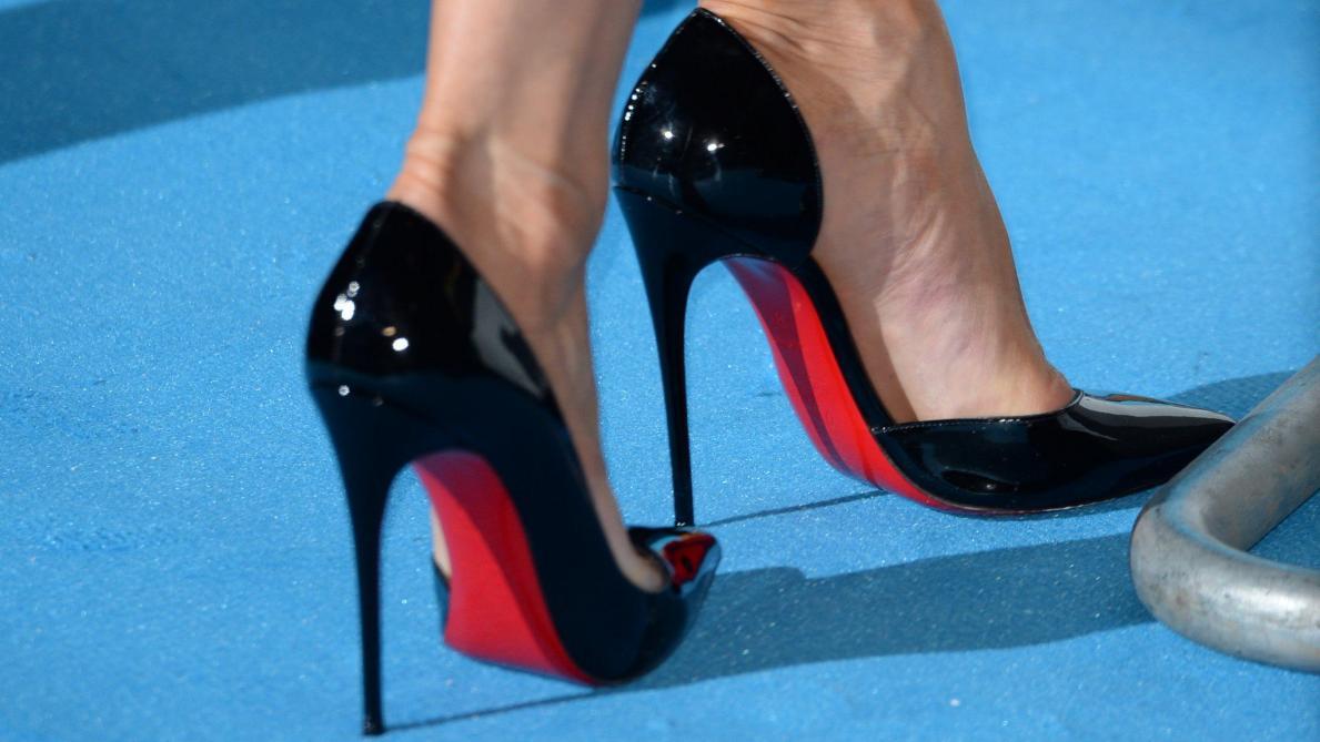 New York e3481 5234b Les chaussures Louboutin marchent sur un fil juridique - Le ...
