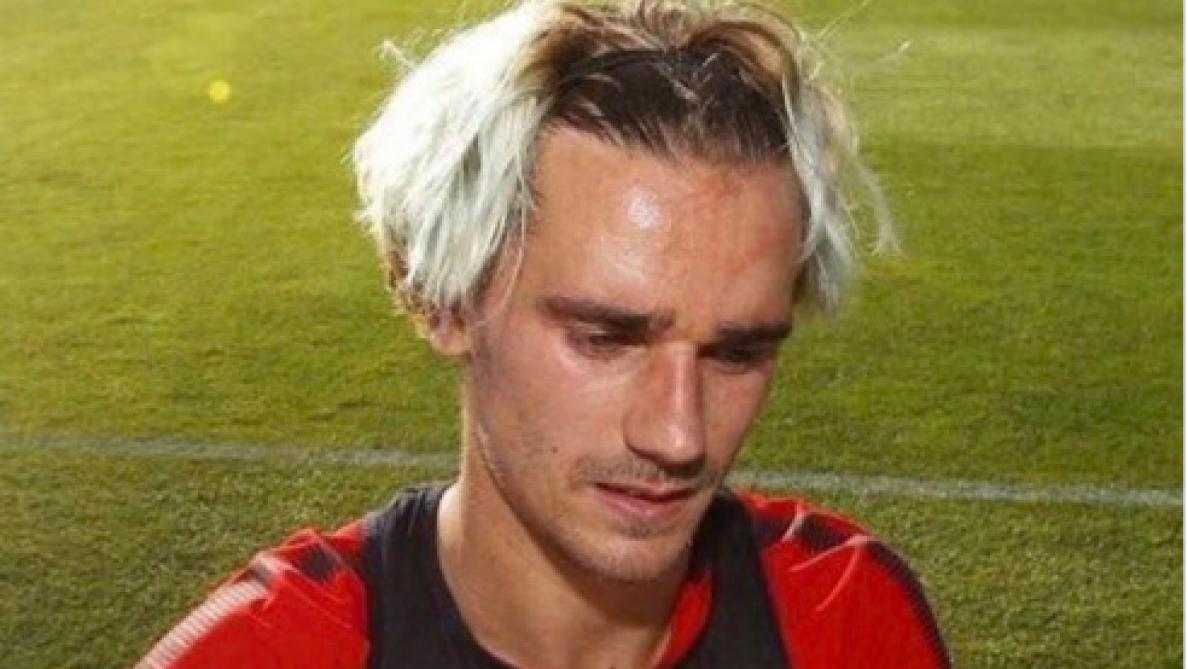 La nouvelle coupe de cheveux d\u0027Antoine Griezmann moquée sur le net!  (photos) , Le Soir