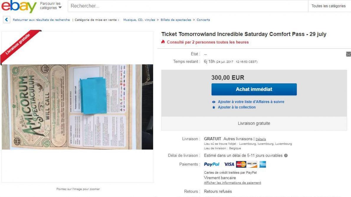 tomorrowland le prix des tickets s envole sur le march noir le soir plus. Black Bedroom Furniture Sets. Home Design Ideas