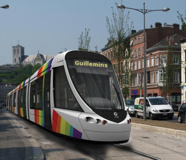 """Résultat de recherche d'images pour """"tramway de Liège."""""""