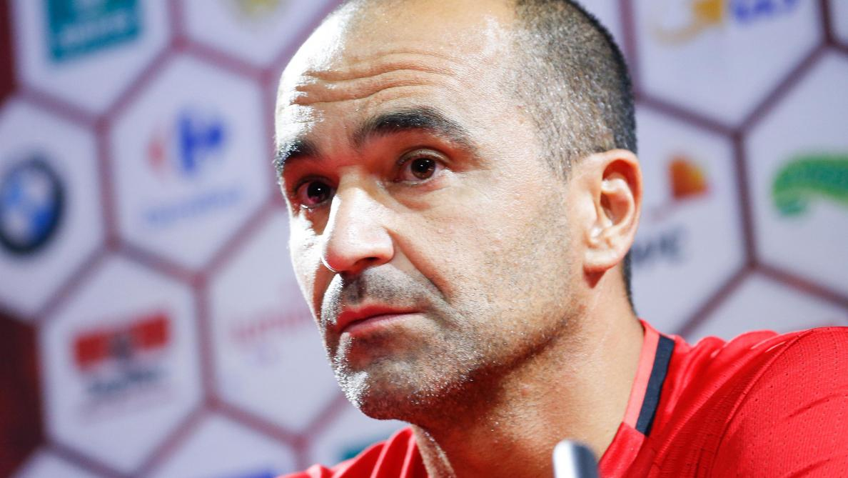 Belgium's head coach Roberto Martinez pictured during a press conference of Belgian national soccer team Red Devils, Monday 28 August 2017, in Tubize. The team is preparing for World Cup qualification games against Gibraltar on Thursday, and Greece on Sunday. BELGA PHOTO BRUNO FAHY