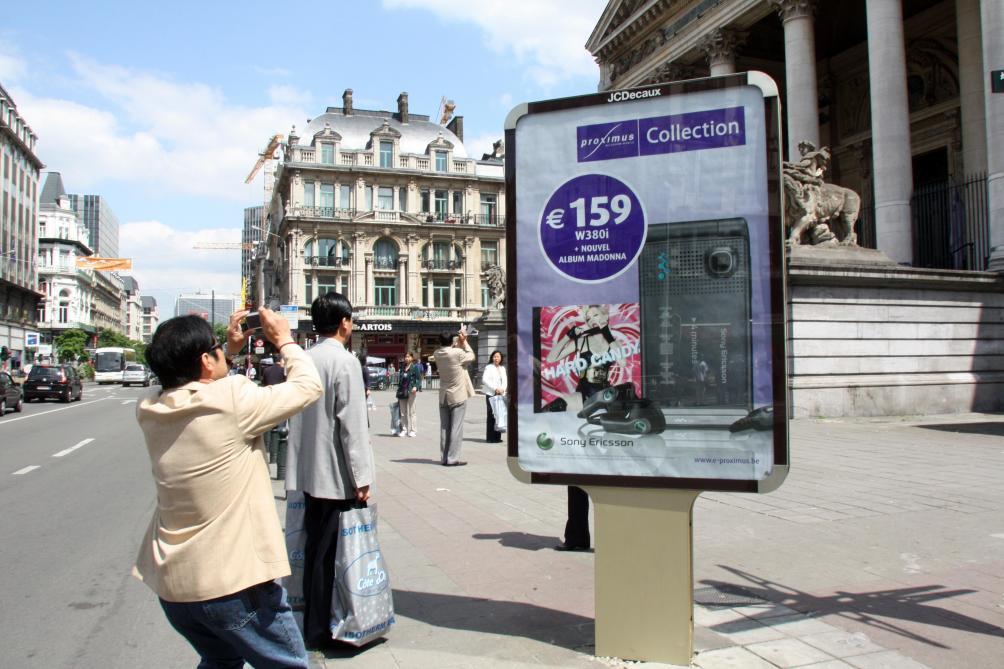 Top Belgique: des caméras dans des panneaux publicitaires pour épier  OD42