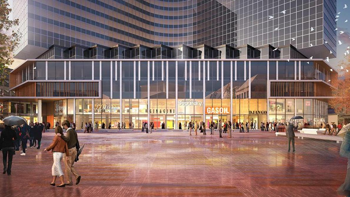 Le centre commercial monnaie bruxelles rouvrira ses - Centre commercial les portes de taverny ...