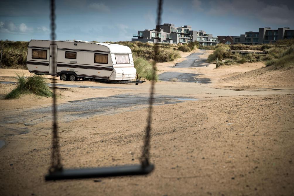 dernier camping dans les dunes le zeepark de la panne a ferm ses grilles le soir plus. Black Bedroom Furniture Sets. Home Design Ideas