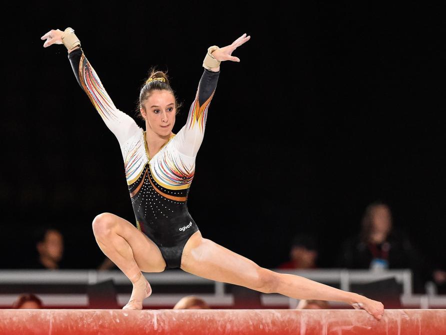Nina Derwael et Rune Hermans écrivent l histoire aux Mondiaux de gymnastique  - Le Soir 2991cc2254b