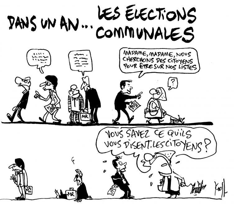 Le Kroll du jour: les élections communales, c'est dans un
