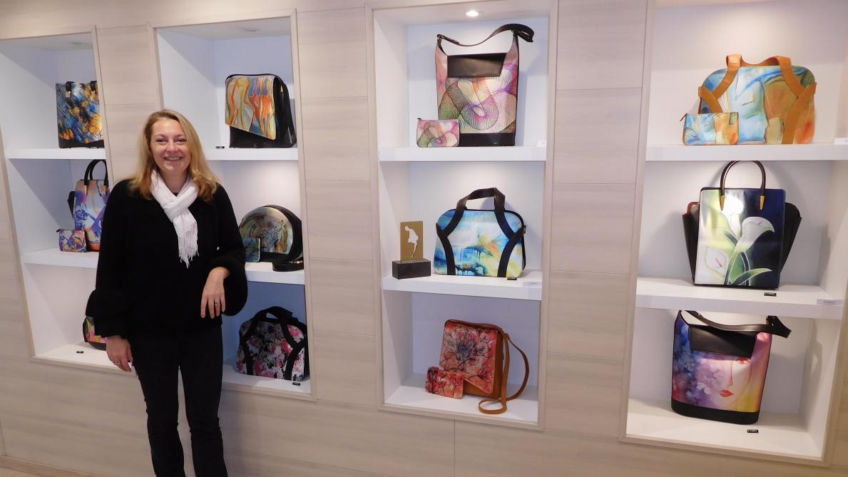 b762487aca8 Sophie Ruelle marie la mode et l art - Le Soir