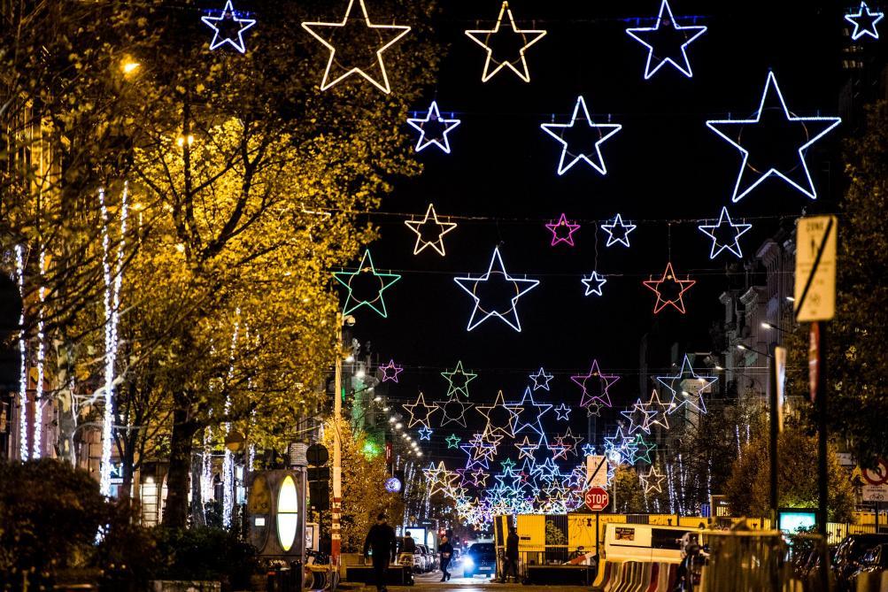 arbre de noel bruxelles 2018 Les illuminations de Noël installées dans le centre de Bruxelles  arbre de noel bruxelles 2018