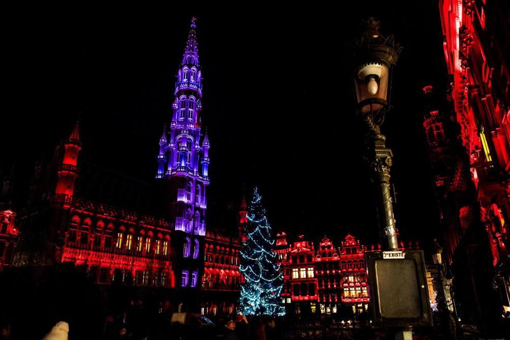 sapin noel bruxelles 2018 Les illuminations de Noël installées dans le centre de Bruxelles  sapin noel bruxelles 2018