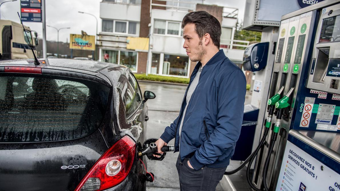Le diesel plus cher que l'essence dans certaines stations-service en Belgique