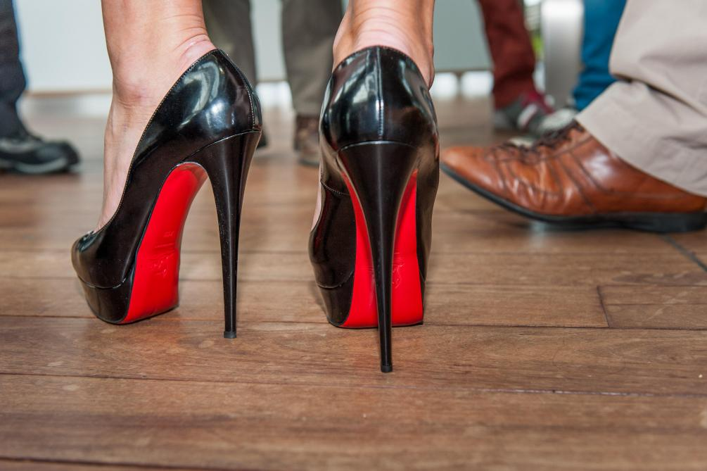 louboutin amsterdam airport