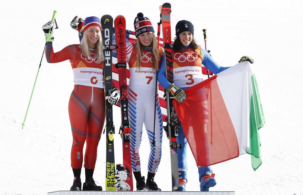 Le slalom géant, premier titre de Mikaela Shiffrin à Pyeongchang