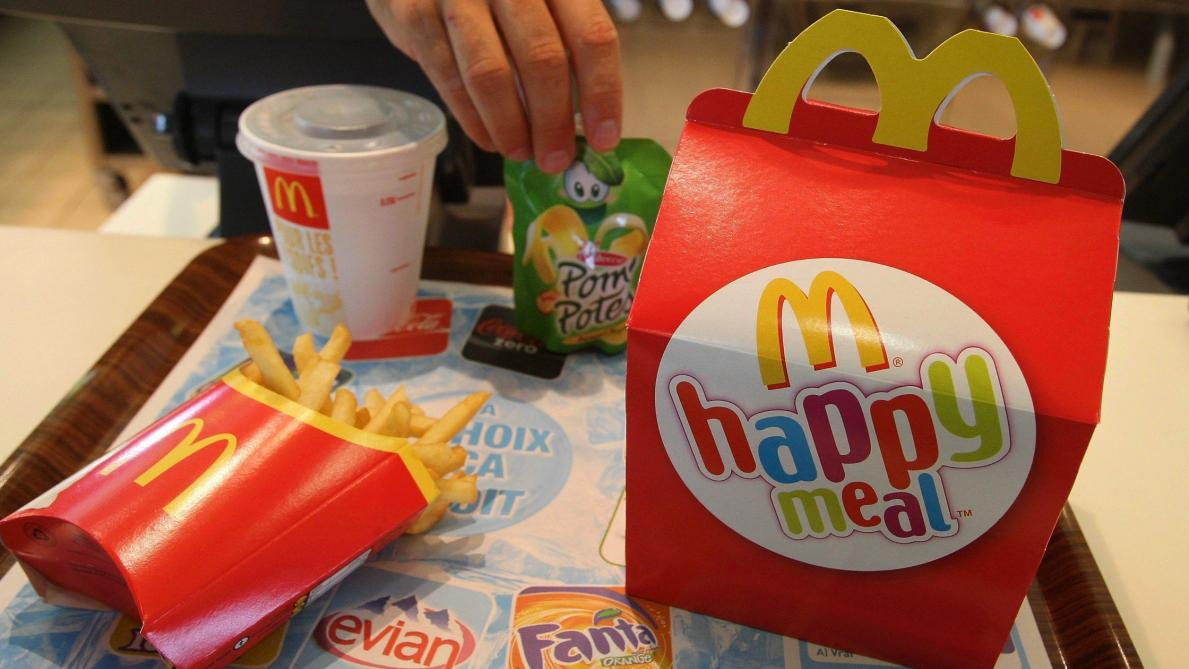 McDonald's va retirer le cheeseburger de ses Happy Meals américains