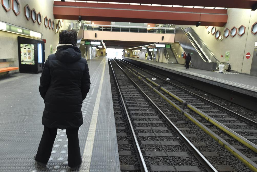 Grève à la Stib: seuls les métros de la ligne 1 roulent, la ...
