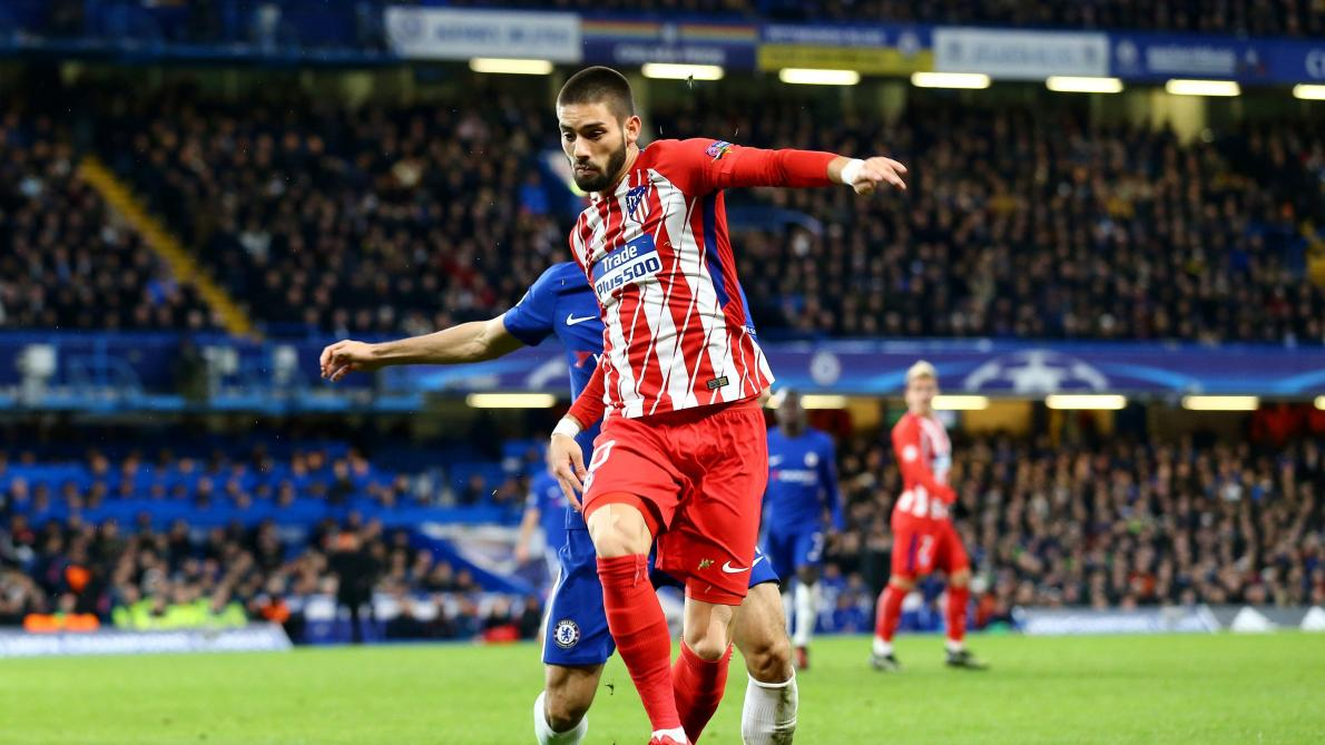 Carrasco en route pour la Chine — Atletico