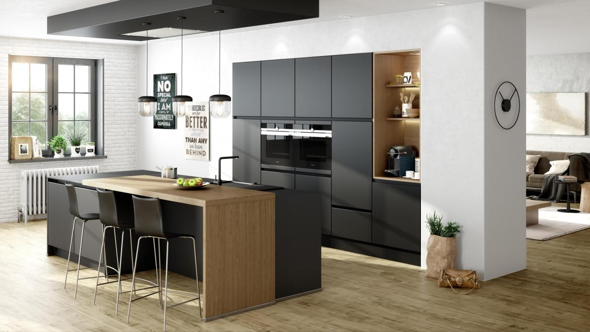 Black is the new black, la nouvelle tendance déco - Le Soir