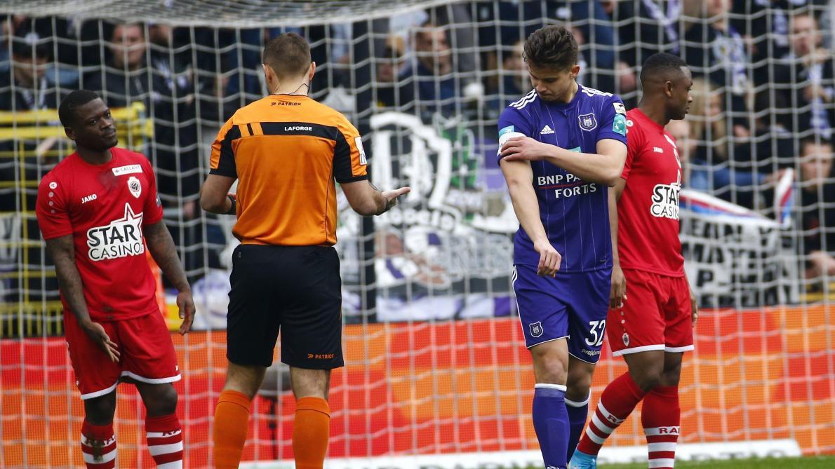 Anderlecht: Trebel quittera le stage pour se défendre à l'Union belge