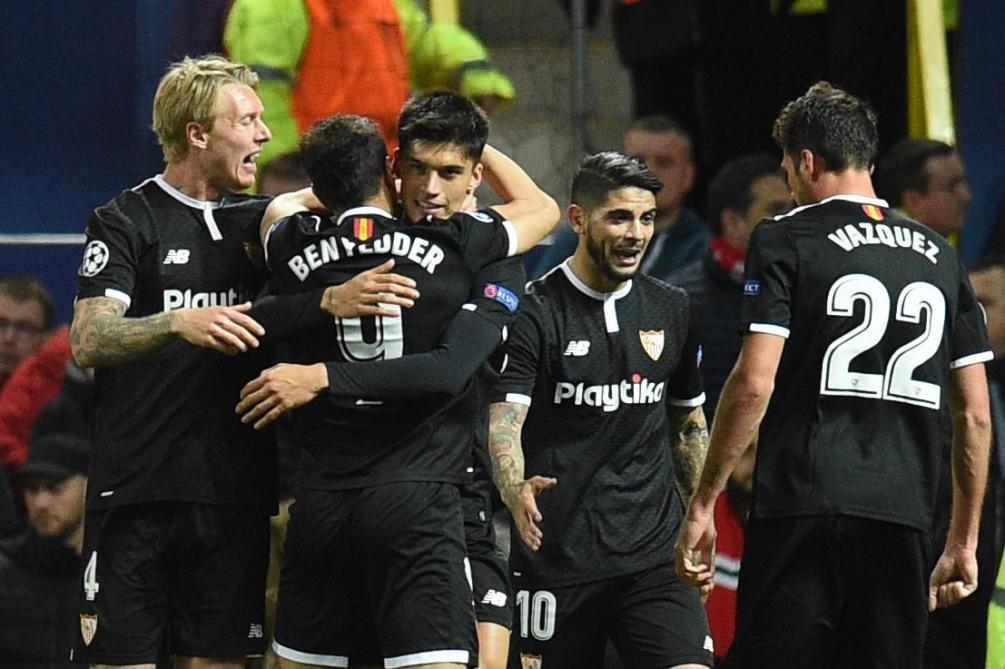 Séville crée la sensation, la Roma rejoint les quarts — LdC Europe