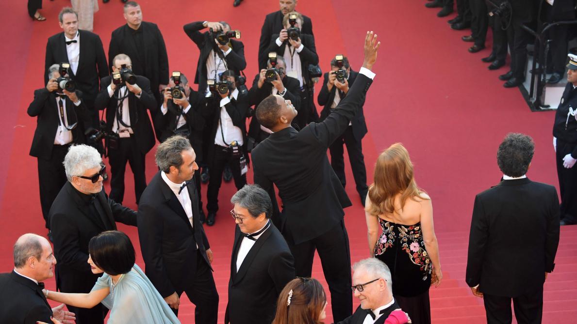 Les selfies sont désormais interdits sur le tapis rouge — Festival de Cannes