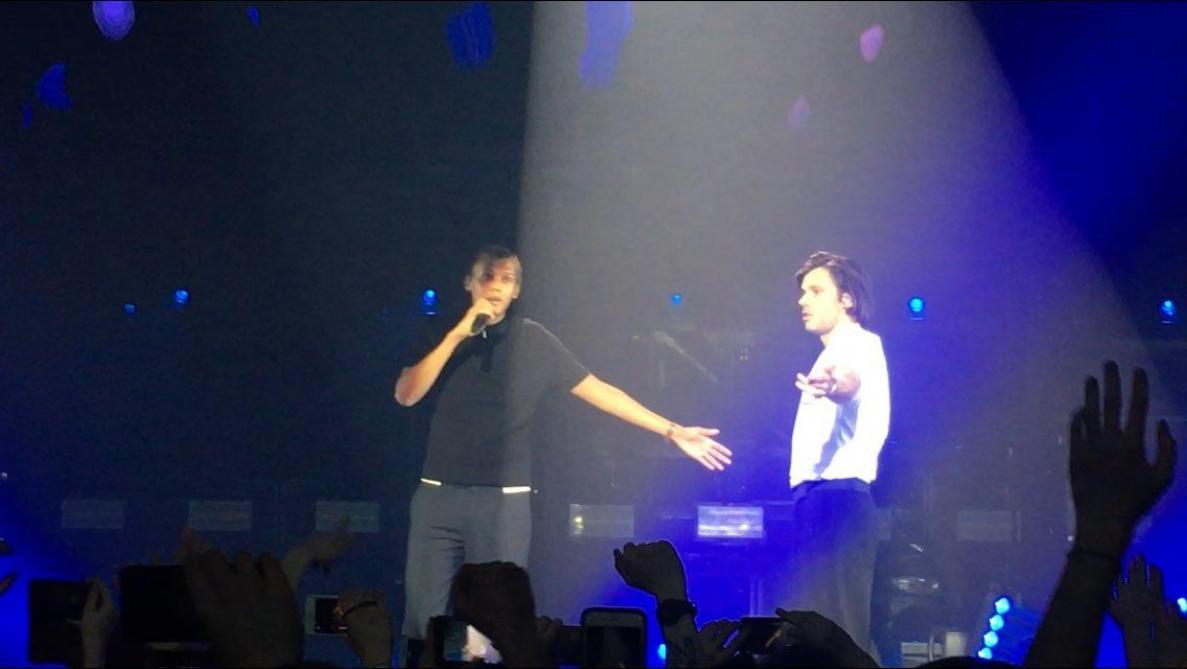 Stromae remonte sur scène le temps d'un duo avec Orelsan