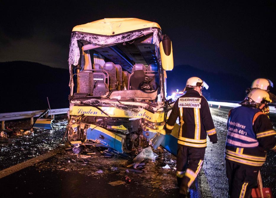 Accident d'un autocar belge en Allemagne, un dossier ouvert au parquet de Louvain