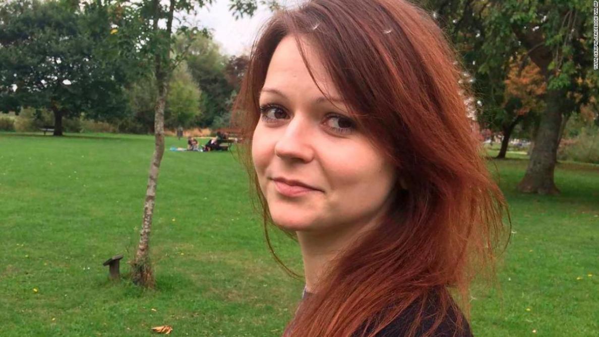 Ioulia Skripal, fille de l'ex-espion russe, a quitté l'hôpital — GB