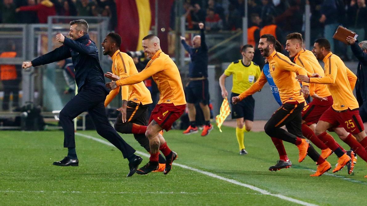LA ROMATADA ! Le Barça éliminé par l'AS ROME, incroyable