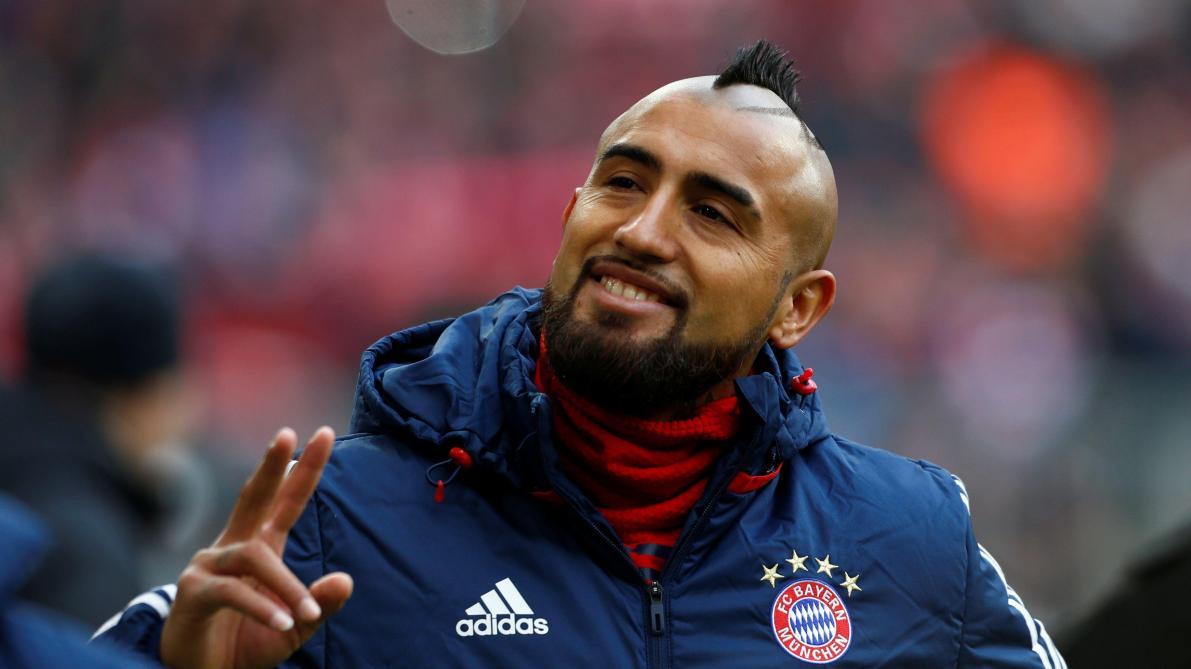 Grosse inquiétude autour d'Arturo Vidal — Bayern Munich