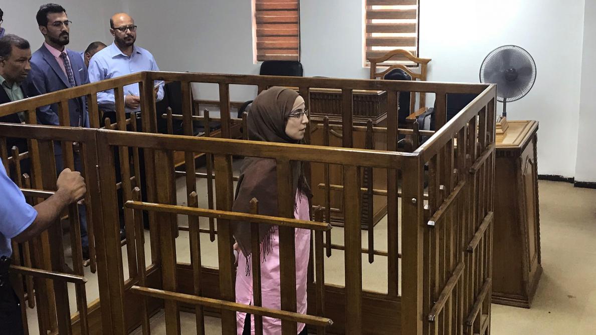 Une djihadiste française condamnée à la prison à vie — EI-Irak