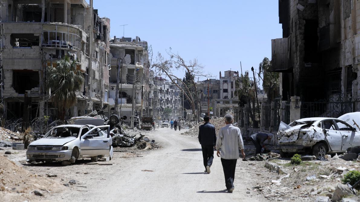 Les composants du gaz sarin utilisé en Syrie proviennent de Belgique