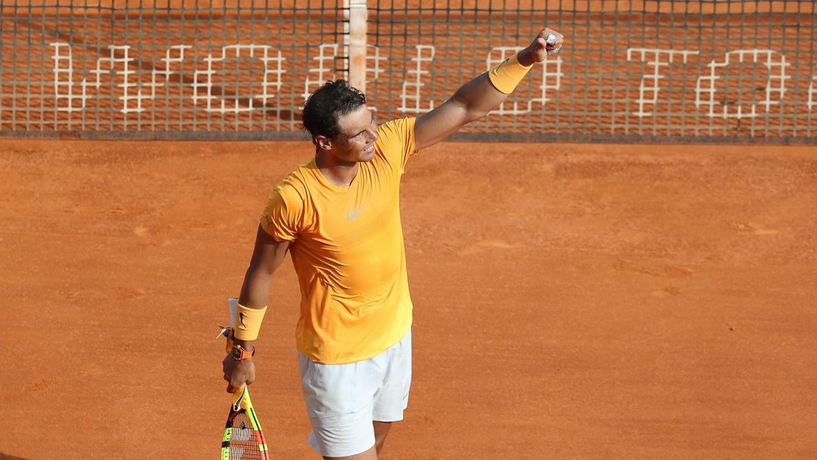 Rafael Nadal en jaune jusqu'à Paris