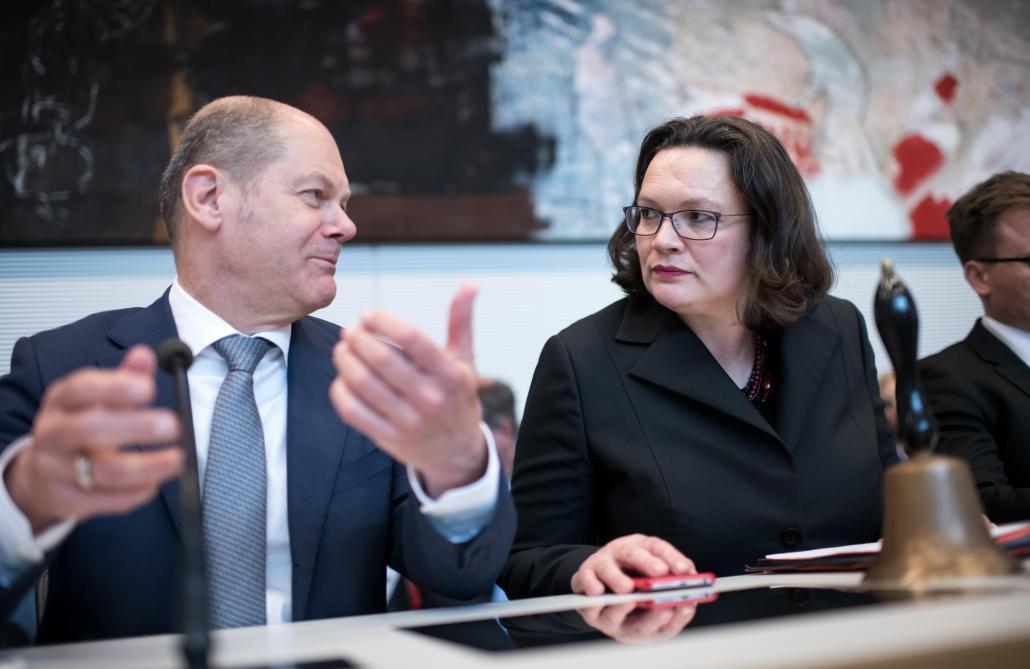Une femme pour sauver le SPD — Andrea Nahles