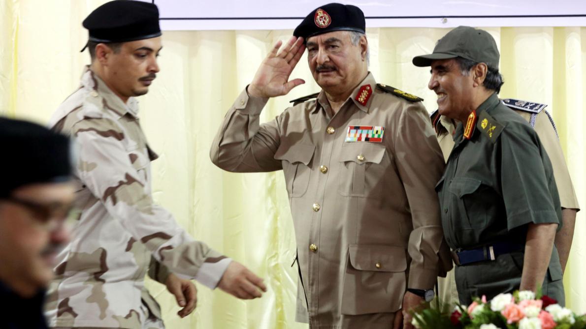 Le maréchal Haftar de retour après une hospitalisation en France — Libye