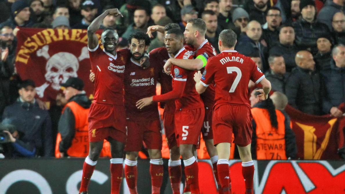 Ligue des champions: Liverpool prend une confortable avance pour la finale mais manque le K-O. (5-2)