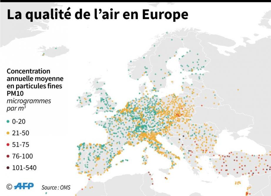 La pollution tue 7 millions de personnes par an, selon l'OMS