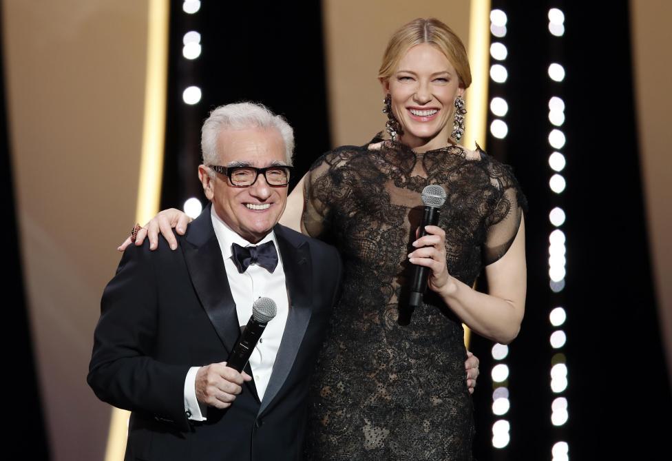 Martin Scorsese et Cate Blanchett