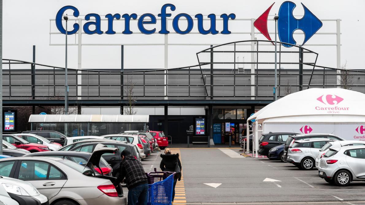 Carte Hypermarche Carrefour.Carrefour Les Hypermarches En Greve Carte Interactive