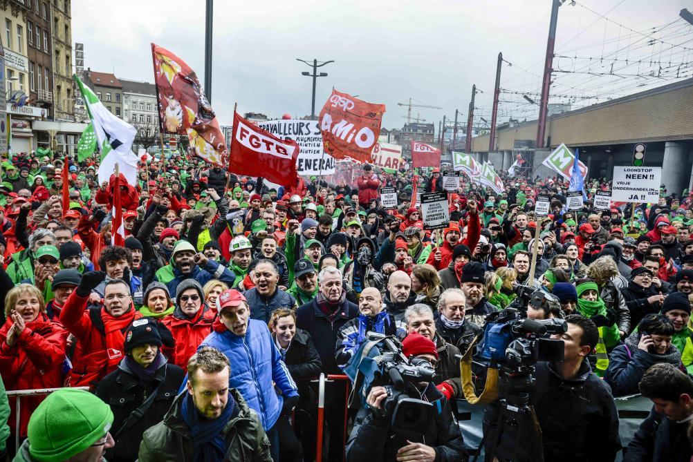 Manifestation nationale le 16 mai : le réseau de la Stib fortement perturbé