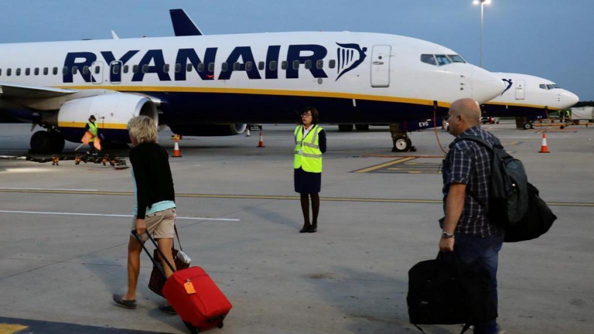 Ryanair annule 150 vols vendredi, moins que prévu