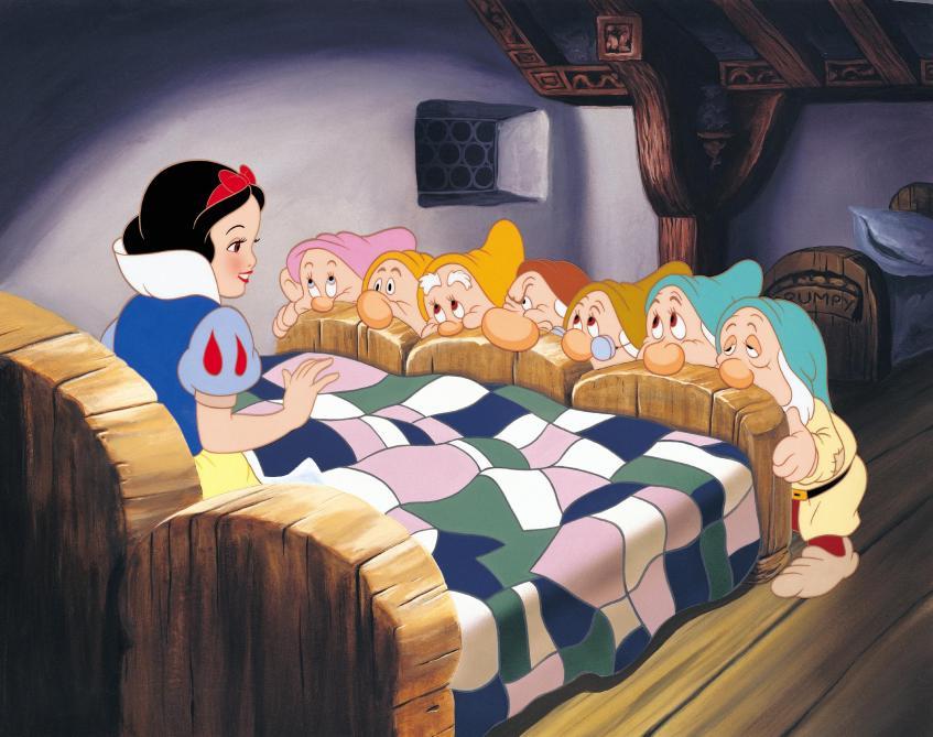 Blanche Neige Ou Comment Disney Est Rentré Dans La Cour Des