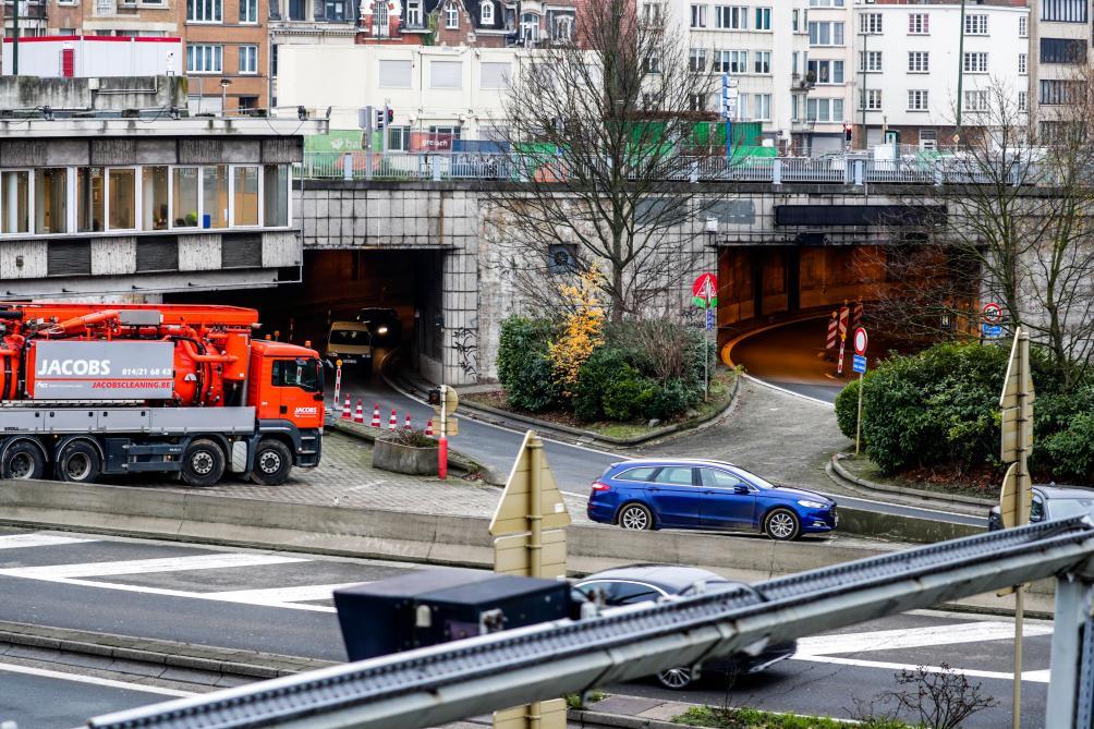 Les tunnels Reyers entrent dans une nouvelle phase de travaux