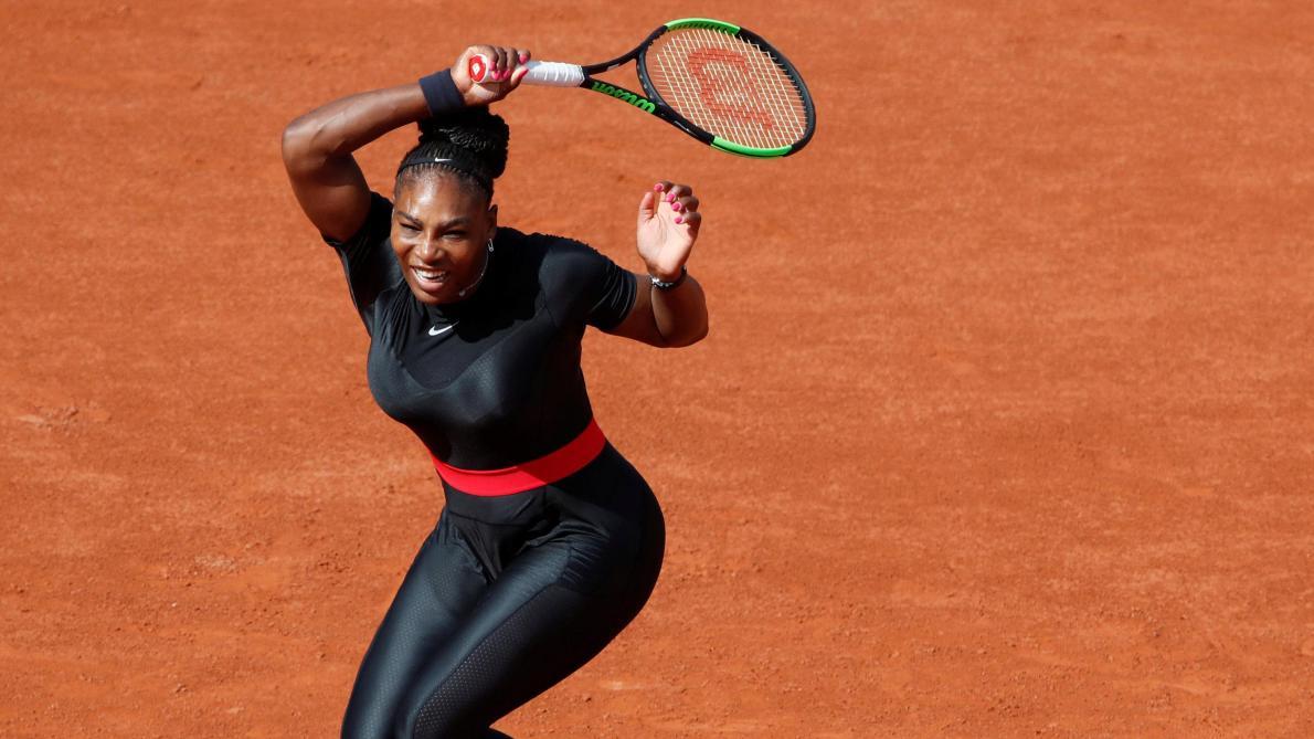 ee3231a218 Serena Williams à Roland-Garros: «Je suis une Catwoman» - Le Soir Plus