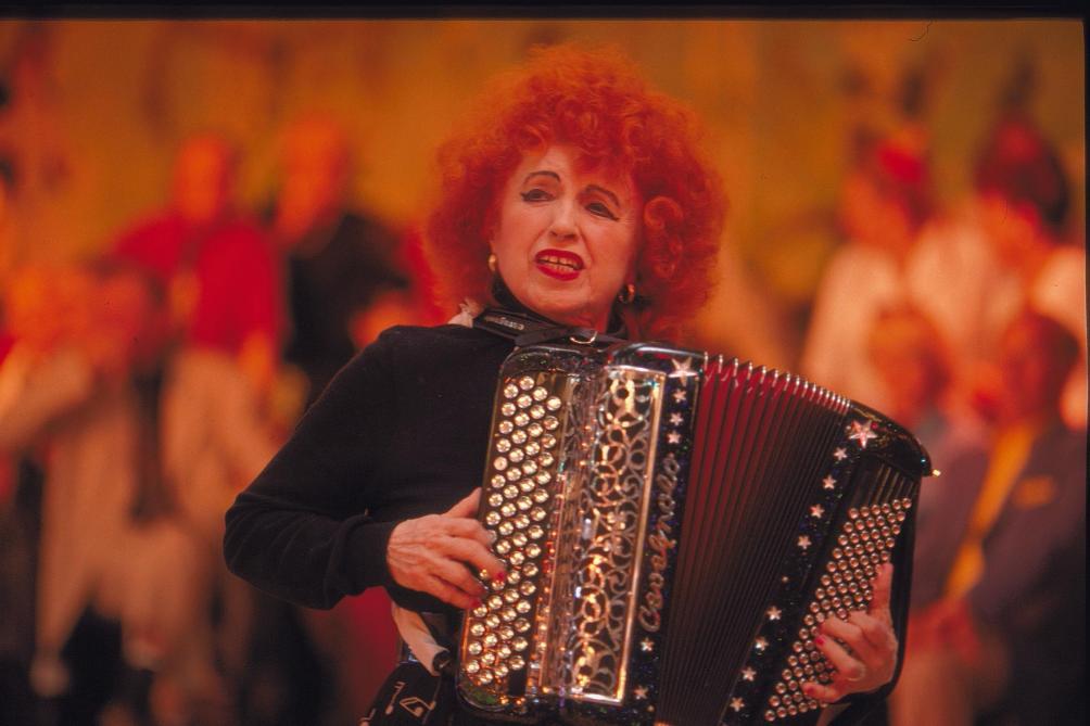 L'accordéoniste Yvette Horner est morte à 95 ans