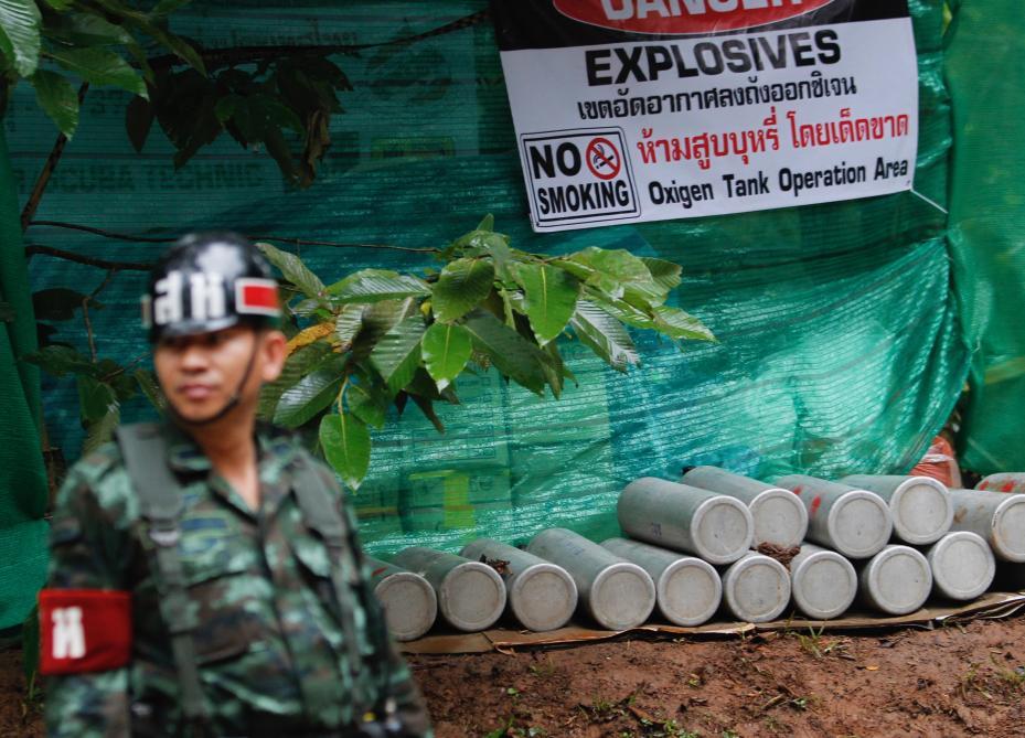 Les quatre premiers enfants sont sortis indemnes — Thaïlande