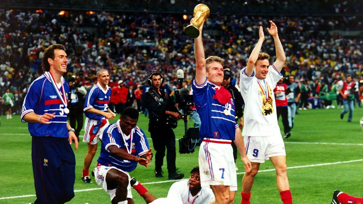 Ce quoi il faut s attendre en cas de victoire des bleus en finale de la coupe du monde le - Victoire de la coupe du monde 1998 ...