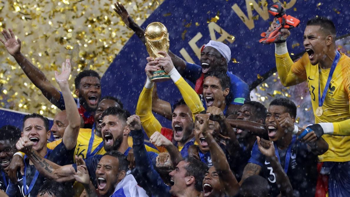 France Croatie 4 2 Des Bleus Au Cœur Bien Accroche Le Soir Plus